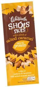 Whitworths Salted Caramel Nuts Shot 14x25g