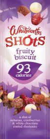 Whitworths Fruity Biscuit Shot 16x25g