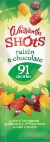 Whitworths Raisin Chocolate Shot 16x25g