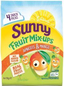 Whitworths Sunny Mix Ups Apricot Mango 7(4x18g)