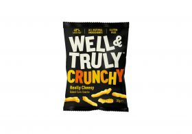 Well&Truly Crunchy Really Cheesy 30g x16