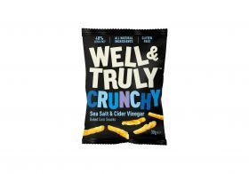 Well&Truly Crunchy Sea Salt & Cider Vinegar 30g x16