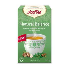 Yogi Tea Natural Balance Org 17 bags  x6