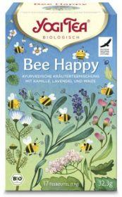 Yogi Tea Bee Happy Organic 17 bags  x6